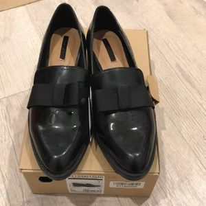 Zara shoes in black size 8 or 39euro, new